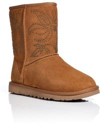 Ugg Suede Adelaide Short Boots - Lyst
