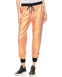 StyleStalker - Love Shock Trousers - Rose Gold - Lyst