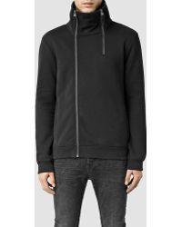 AllSaints | Semir Funnel Neck Sweatshirt | Lyst