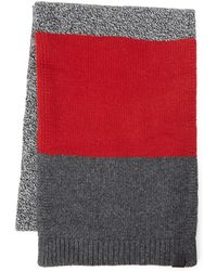 Victorinox - Color Block Knit Scarf - Lyst