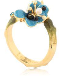 Les Nereides - Juste Une Fleur Ring - Lyst
