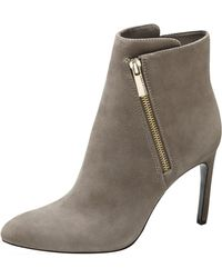Vince Camuto Gray Chantel Bootie - Lyst
