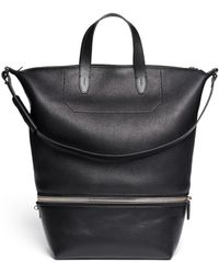 Alexander Wang 'Explorer' Leather Tote - Lyst