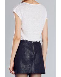 Zapa - Short Sleeve Top - Lyst