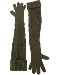 I'm Isola Marras - Long Knit Gloves - Lyst