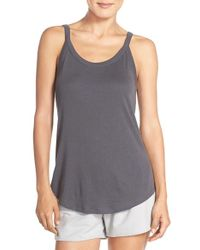 Yummie By Heather Thomson - Scooped Neck Tank - Lyst