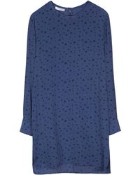 Equipment Blue Owen Dress - Lyst