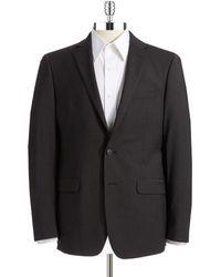 Calvin Klein Slim Fit Wool Suit Separate Jacket - Lyst