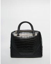 ASOS | Croc Tote Bag | Lyst
