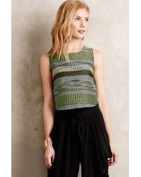 Leifsdottir Striped Jade Midi Top - Lyst