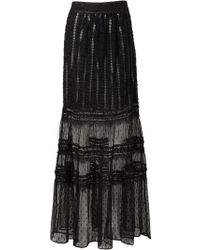 Alice By Temperley Misty Long Skirts - Lyst