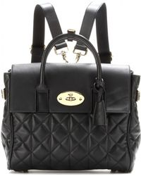 Mulberry Cara Delevingne Leather Bag - Lyst