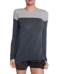 Vince Color Block Sweater - Lyst