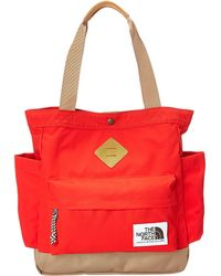 The North Face Four Point Tote red - Lyst