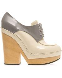Jil Sander Bicolour Shoe Boots - Lyst