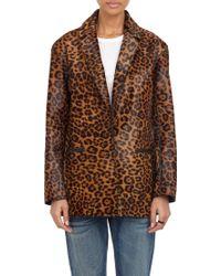 Rag & Bone Sigrid Dyed Leopard Print Coat - Lyst