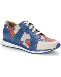 Enzo Angiolini - Orange & Blue Reeber Sneakers - Lyst