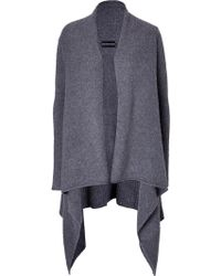 Zadig & Voltaire Open Silhouette Cashmere Cardigan - Lyst