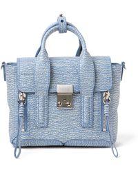 3.1 Phillip Lim Textured Medium Pashli Bag - Lyst