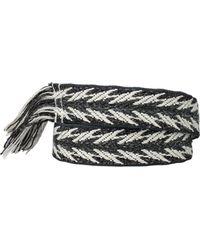 Isabel Marant Cotton And Linen Carpet Belt - Lyst