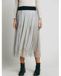 Free People Sugar Plum Tutu Skirt - Lyst