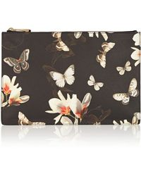Givenchy Medium Antigona Pouch In Printed Coated Canvas - Lyst