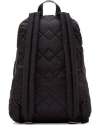 Marc By Marc Jacobs - Black Quilted Crowsby Backpack - Lyst