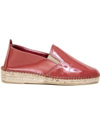 Prism Espadrilles In Petal Patent Leather pink - Lyst