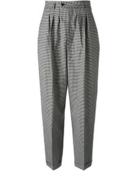 Yves Saint Laurent Vintage Wide Leg Trousers - Lyst