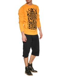 Marc Jacobs Cotton-linen Sweatshirt orange - Lyst