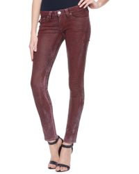 True Religion Hand Picked Skinny Womens Jeans - Lyst