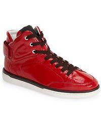 Dolce & Gabbana High Top Sneaker - Lyst