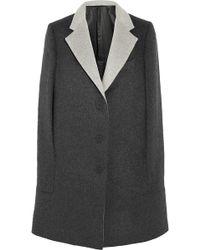 Richard Nicoll | Brushed Wool And Angora-Blend Cape | Lyst