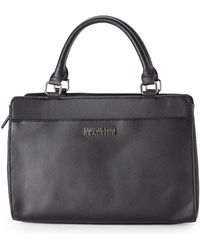 Kenneth Cole Reaction Black Aria Satchel - Lyst