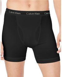 Calvin Klein Cotton Stretch 3 Pack Boxer Brief - Lyst