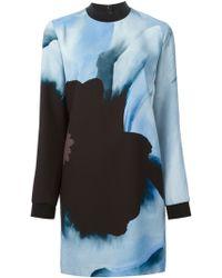 Victoria, Victoria Beckham Floral Tunic Dress - Lyst