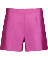 Raoul - Wool And Silk-blend Shorts - Lyst