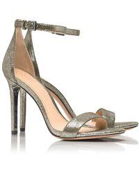 Tory Burch Keri Metallic Sandal - Lyst