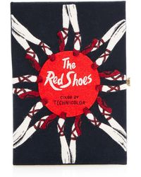 Olympia Le-Tan The Red Shoes Book Clutch - Lyst