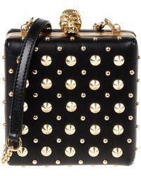 Alexander McQueen Black Handbag - Lyst