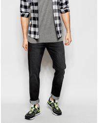 WÅVEN - Jeans Verner Skinny Fit Vintage Black - Lyst