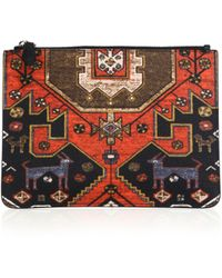 Givenchy | Printed Leather Pouch | Lyst