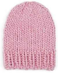 Wool And The Gang - Zion Lion Hat Pink Lemonade - Lyst