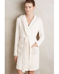 Saturday/sunday - Sherpa-lined Robe - Lyst