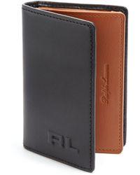 Ralph Lauren Leather Card Case - Lyst