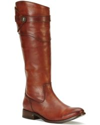 Frye - Molly Button Tall Boots - Lyst