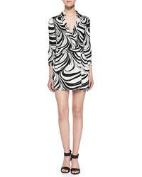 Diane von Furstenberg Celeste Jersey Wrap Dress - Lyst