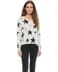 Sass & Bide Trace Of Gold Tee - Ivory - Lyst