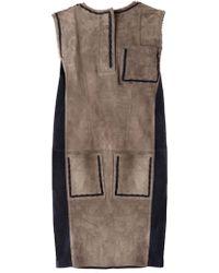Lanvin Sleeveless Dress - Lyst