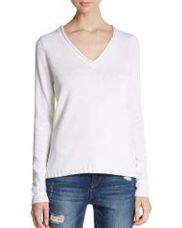 Sam Edelman - Novelty V-neck Sweater - Lyst